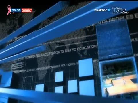 JT Français 20h  du mardi 17 oct. 2017