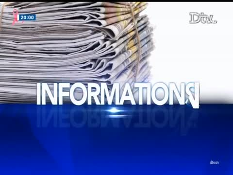 JT Français 20h  du samedi 21 oct. 2017