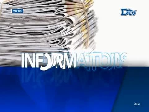 JT Français 20h  du vendredi 08 déc. 2017
