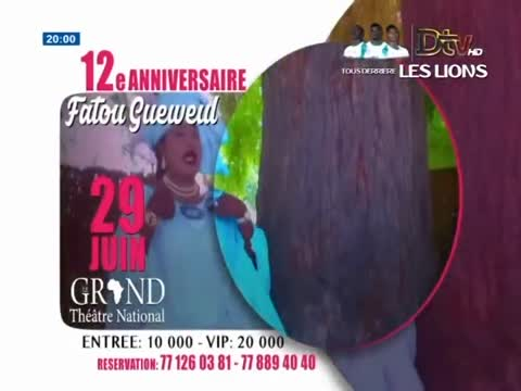 JT Français 20h  du dimanche 24 juin 2018