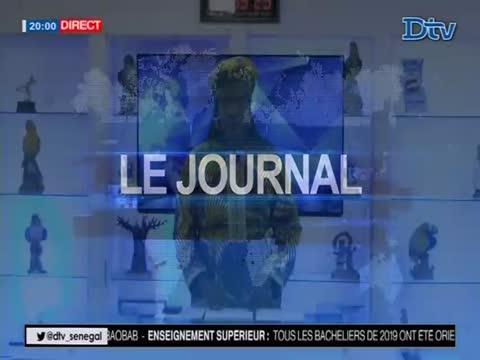 JT Français 20h  du vendredi 07 août 2020