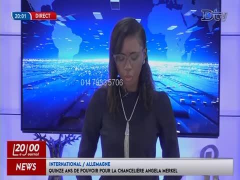 JT Français 20h  du dimanche 22 nov. 2020
