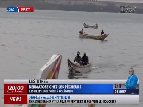 JT Français 20h  du lundi 23 nov. 2020