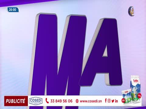 JT Français 20h  du dimanche 09 mai 2021