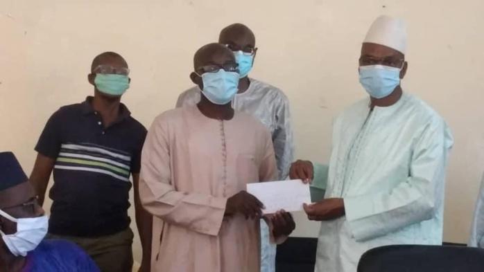 KOLDA : Moussa Baldé (MAER) assure la restauration de tous les candidats du bfem du département.