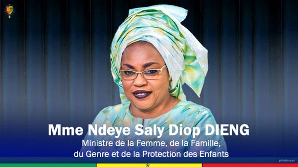 Décès suite aux dernières pluies : La Ministre Ndèye Saly Diop Dieng présente les condoléances du ch
